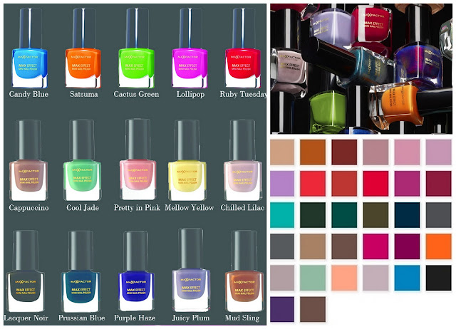 Max Factor Max Effect Mini Nail Polish Collection
