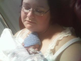 Kangaroo Care, First Preemie Cuddle