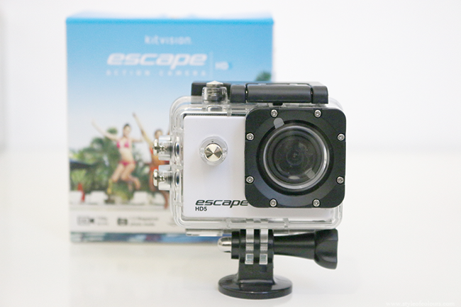 kitvision escape hd5 action video camera talked one the