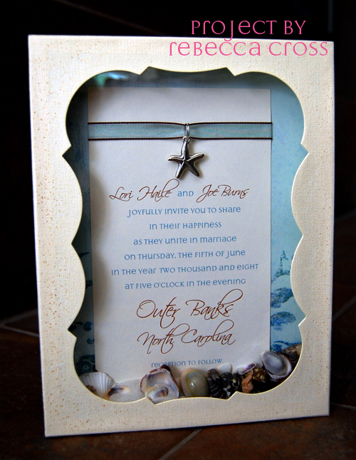 Great ideas for the busy little bride beach themed for Beach wedding invitations with pictures
