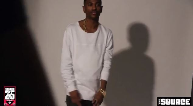 Big Sean- The Source magazine