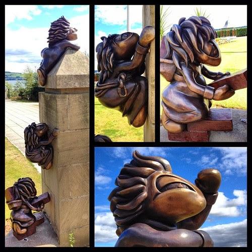 Esculturas Lemmings en Dundee