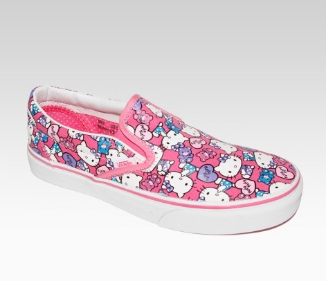 Epic  hello kitty items again they add more new colors designs and collectibles like backpacks socks apparels and of course their trendy Vans Kitty