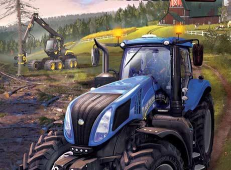 تحميل لعبة محاكة قيادة السيارات Farming Simulator مجانا