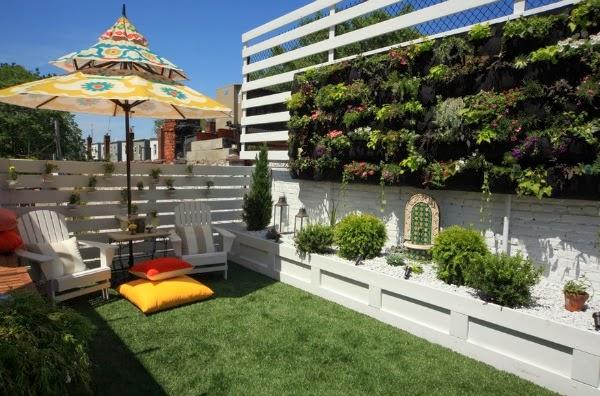 Diseñar un patio o una terraza   guia de jardin. aprende a cuidar ...