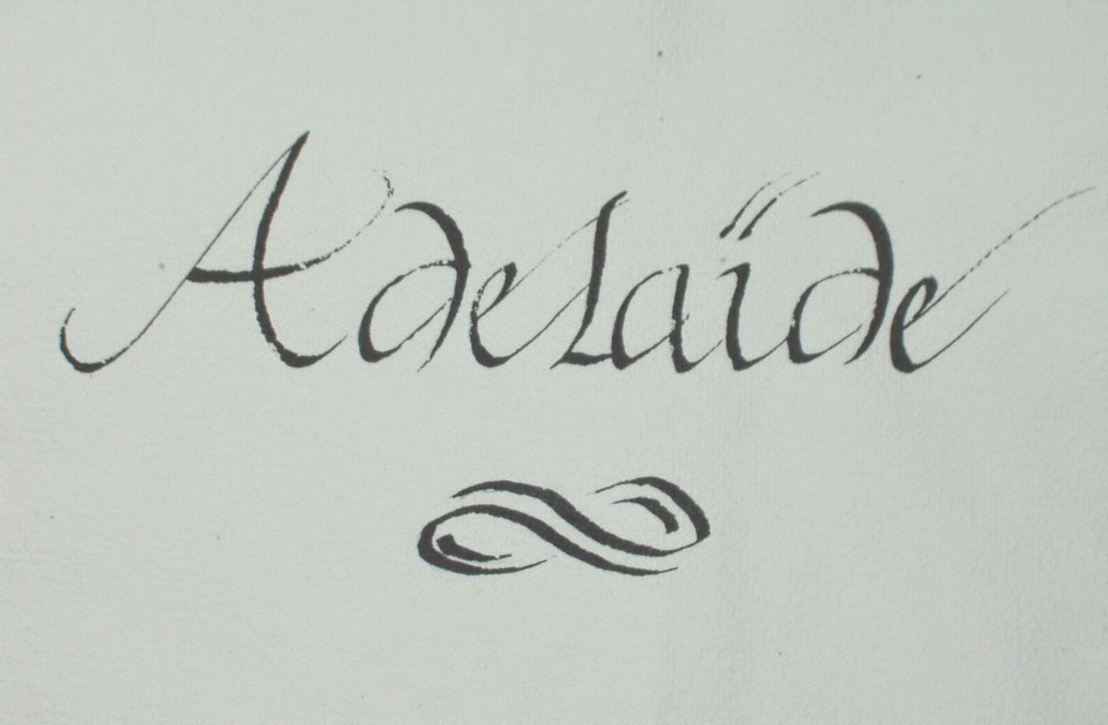 Murmures d 39 anc tres challenge az l comme liesse - Adelaide prenom ...