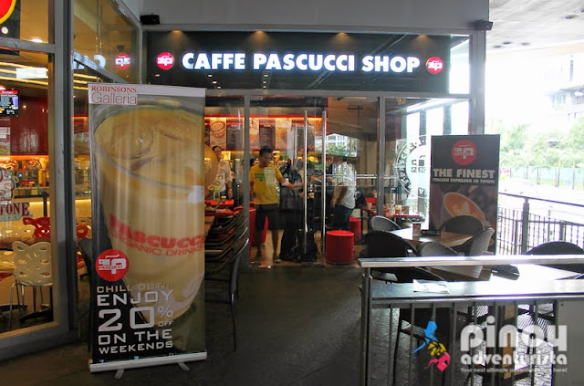 Caffe Pascucci in Robinsons Galleria