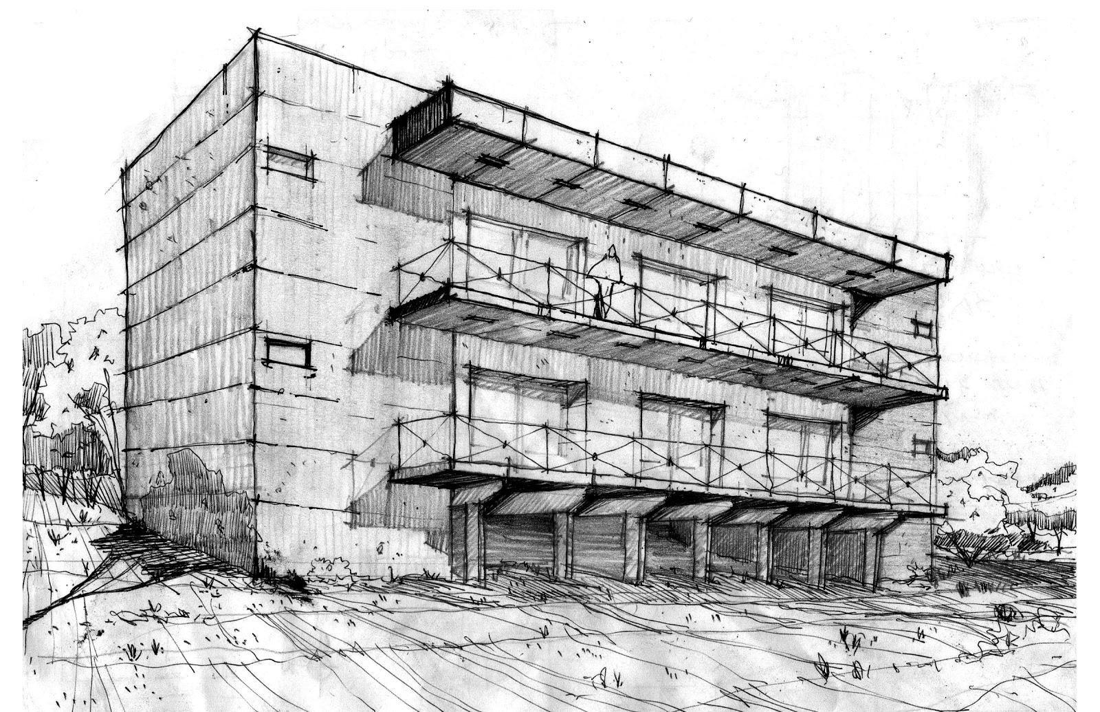 Otro ejemplo grafica arquitectonica for Programas de 3d para arquitectos