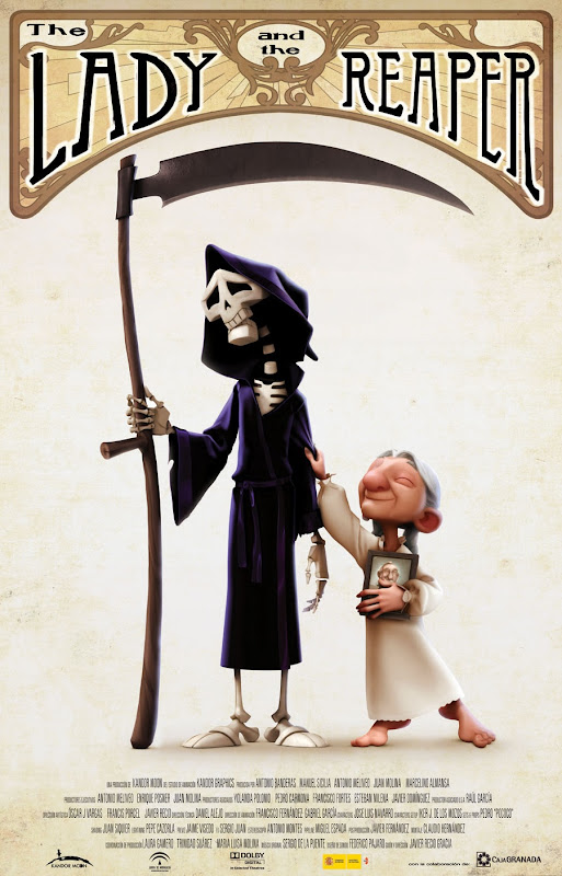 Film-plakat for 'The Lady and the Reaper'