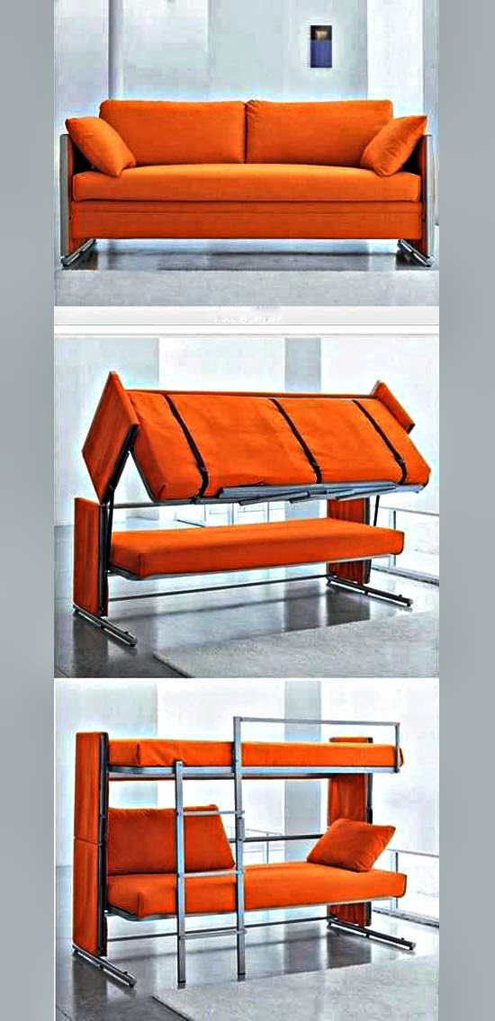 Amazingly Foldable Sofa Bunk Beds Interior Design Inspiratio