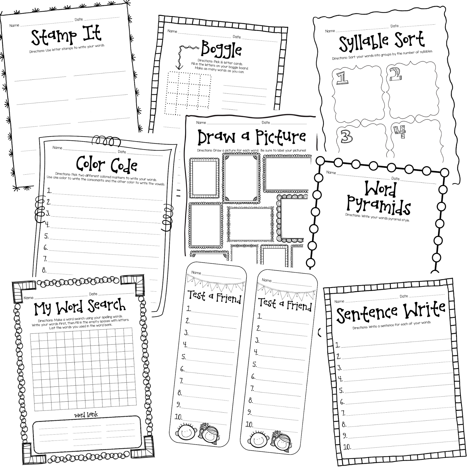 Worksheet Second Grade School Work morning work activities second grade smiling and shining in math worksheet word worksheets for kids teachers activities