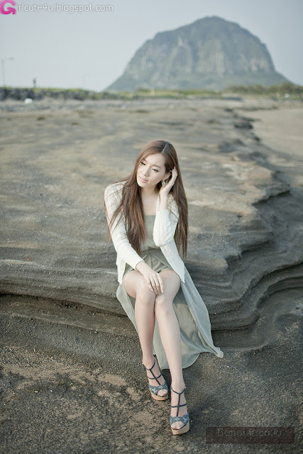 9 Lee Ji Min - Outdoor-very cute asian girl-girlcute4u.blogspot.com