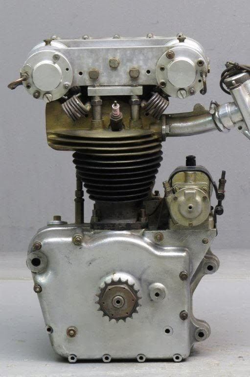 1949 Royal Enfield 250cc Racing Motorcycle | Bonhams Auction | The ex-Bill Lomas 1949 Royal Enfield 250cc racer | Royal Enfield | The vintagent