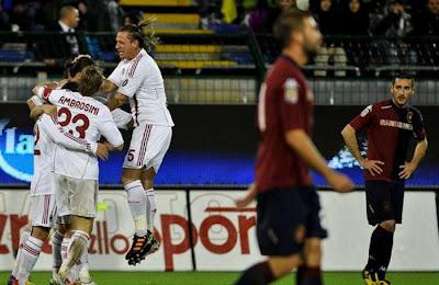 Cagliari 0 - 2 AC Milan (1)