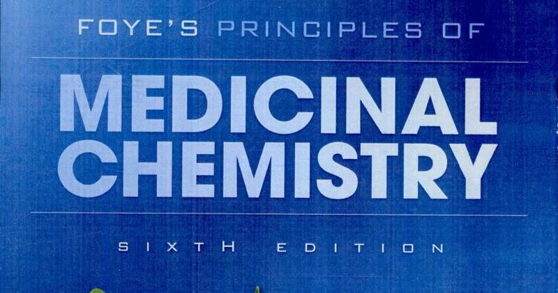 foye medicinal chemistry free  pdf