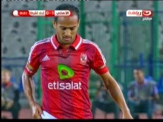 اهداف مباراة الاهلى والشرطة 3-0- الدورى المصرى 18-10-2014