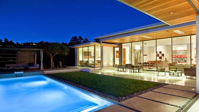 Casa trousdale studio william hefner beverly hills for Terrazas y piscinas modernas