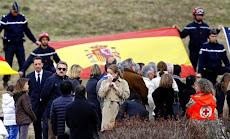 ESPAÑA: ACCIDENTE DE AVIÓN EN LOS ALPES