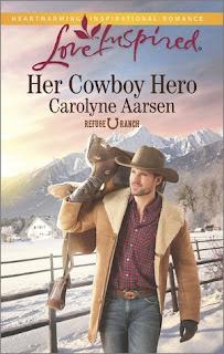 Heidi Reads... Her Cowboy Hero by Carolyne Aarsen
