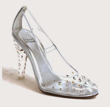 clear cinderella shoes for wedding