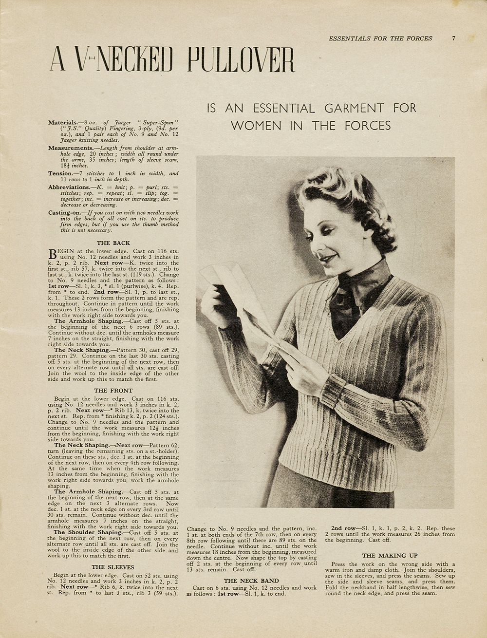 Ewespecial vintage knitting patterns there is a resurgence of using vintage knitting patterns victoria and albert museum uk has this page dedicated to such patterns bankloansurffo Images