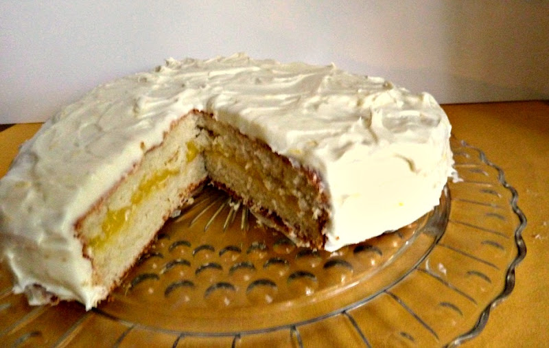 Triple-Lemon LayerCake Adapted from Fine Cooking