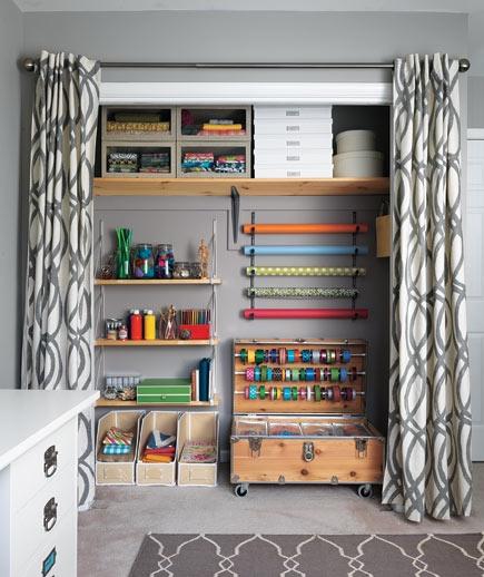 Sherri cassara designs curtains for closet doors