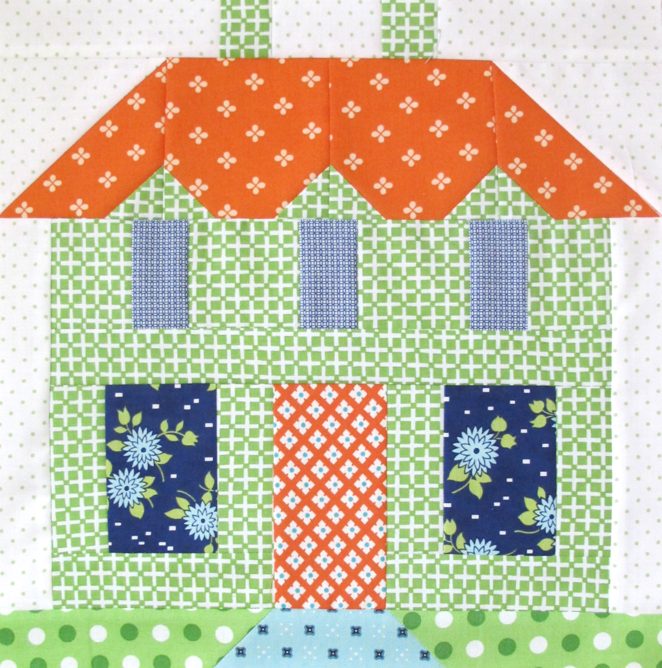 Bee In My Bonnet: My Home Sweet Home Quilt Block Pattern - In Quiltmakers Magazine 100 Blocks!!!