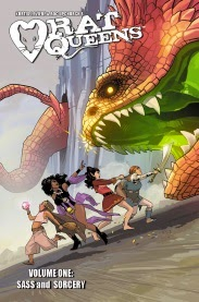 Cover art for Rat Queens Volume One: Sass and Sorcery