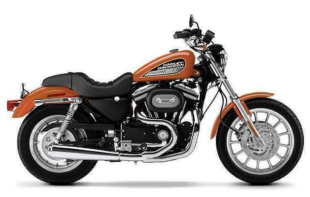 Harley Davidson Sportster - Roadster 883 Bike_MyClipta