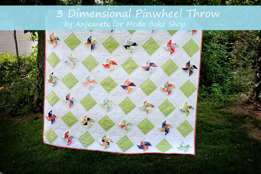 3D Pinwheel Throw Quilt Â« Moda Bake Shop : pinwheels quilt shop - Adamdwight.com
