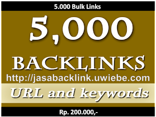 5.000 Backlinks