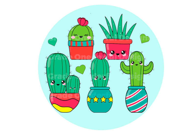 Cactus ~ Colour + BW
