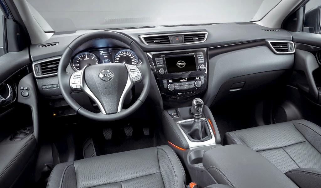 2014 nissan qashqai concept sport car design for Interior nissan qashqai 2014