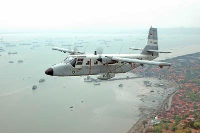 Pesawat Nomad TNI AL