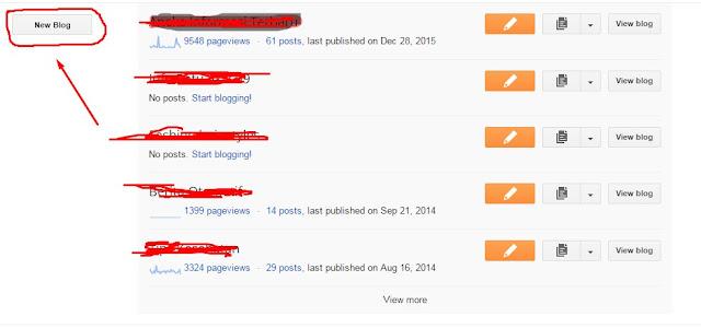 cara membuat blog 1