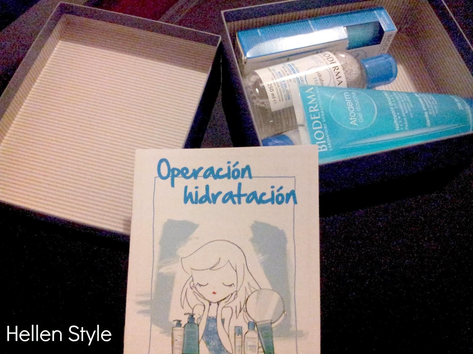 Operación hidratación Bioderma