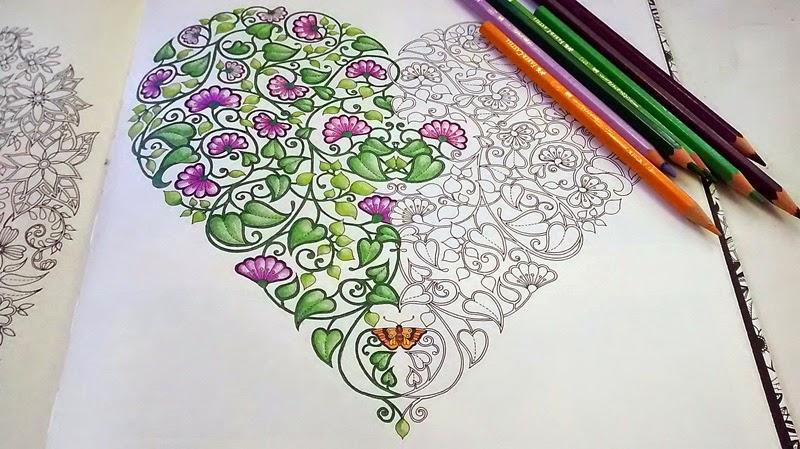 flores jardim secreto:papel é de boa qualidade, você pode usar lápis de cor, canetinhas