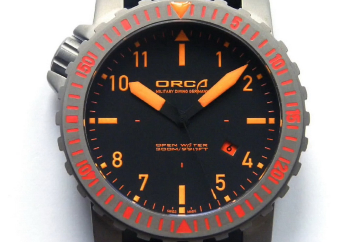 All best watches orca timepieces open water for Youtube h2o
