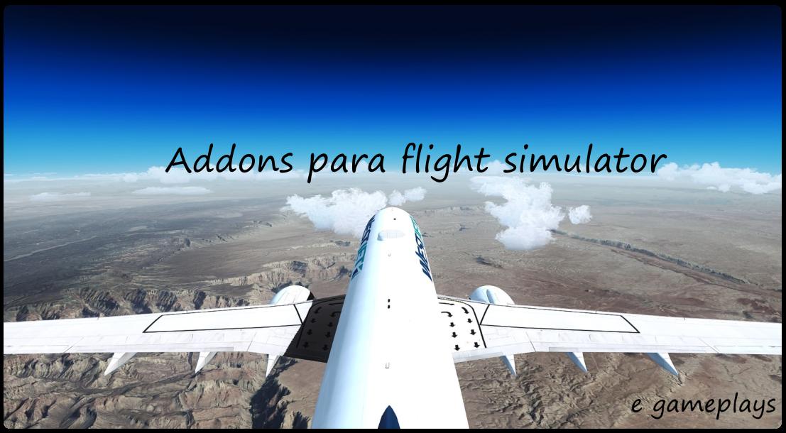 Aeronaves Para Flight Simulator & Gameplays