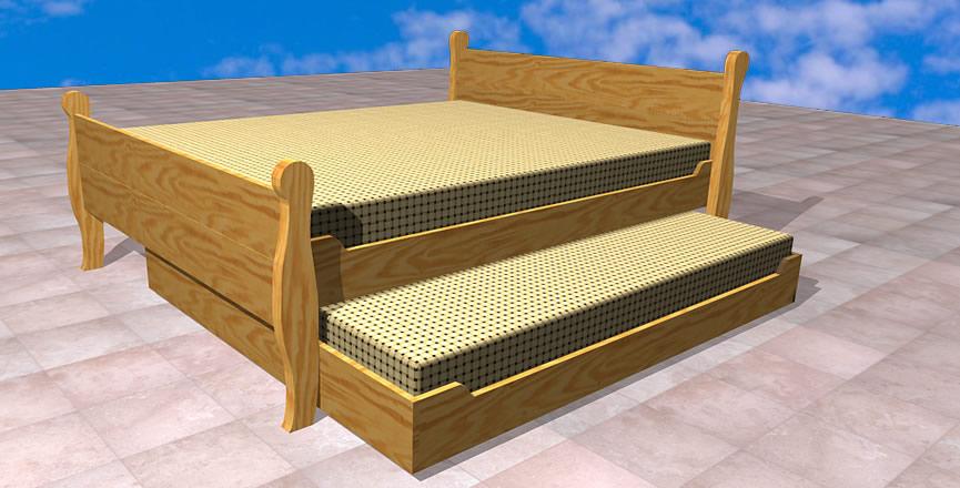 Camas cuja santiago camas cuja sin vibraciones sin for Cama nido de 1 plaza