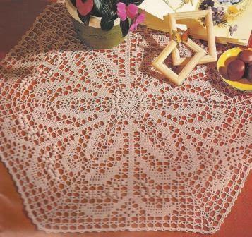 """Tapete """"Flor de Edén"""" a Crochet"""