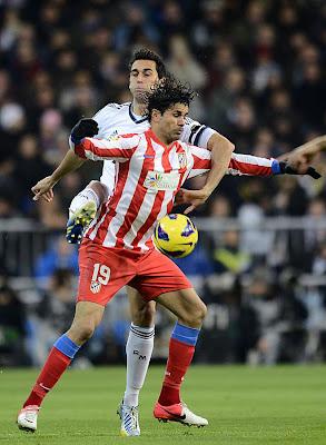 Diego Costa en el Derbi