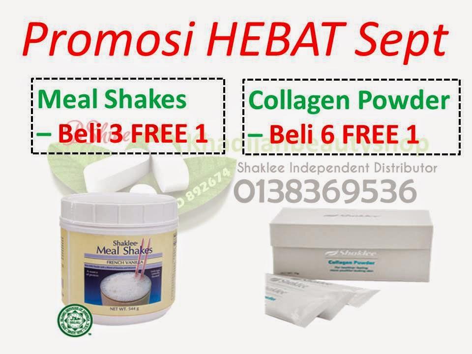 Promosi Meal Shakes