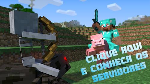 Servidores de Minecraft Survival para jogar!