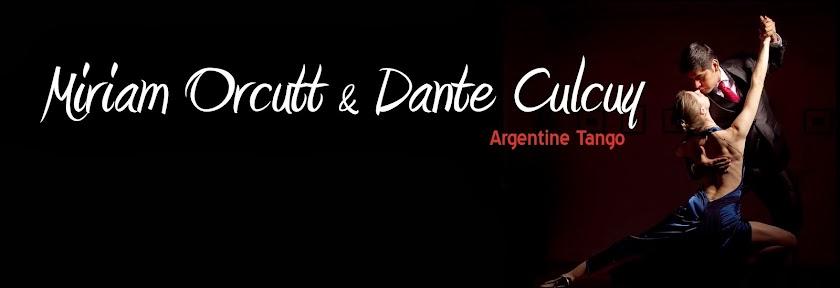 Miriam Orcutt & Dante Culcuy - Argentine Tango in London
