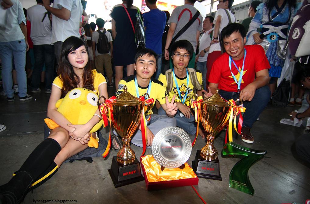 Đội Việt Nam vô địch tại Gunny World Championship 2013