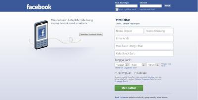 Cara Mudah Membuat Akun Facebook Baru