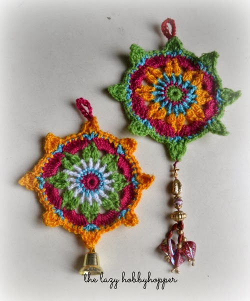 Crochet Ornaments : Crochet ornament - free pattern