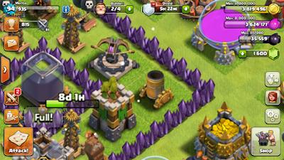 Mortero clash of clans